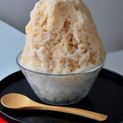 かき氷 ロイヤルミルクティー