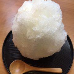 かき氷 レモン